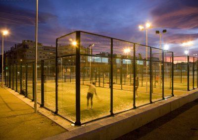 Via Parque. Instalaciones deportivas municipales