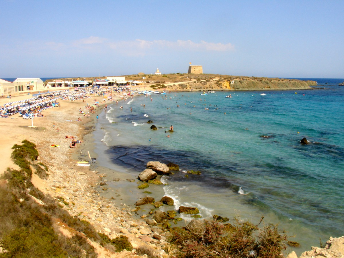 Die insel tabarca alicante city beach - Residencial isla tabarca ...