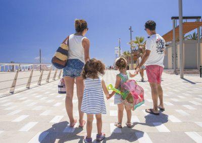 Playa de San Juan. Alicante con niños