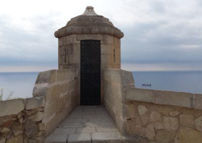 Castillo de Santa Bárbara.