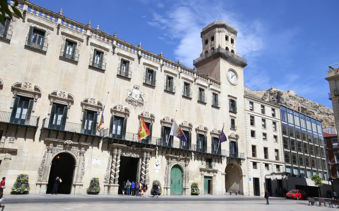 The Town Hall of Alicante