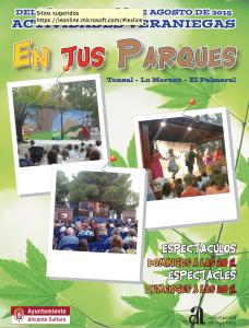 Actividades veraniegas en los parques de Alicante @ diferentes ubicaciones