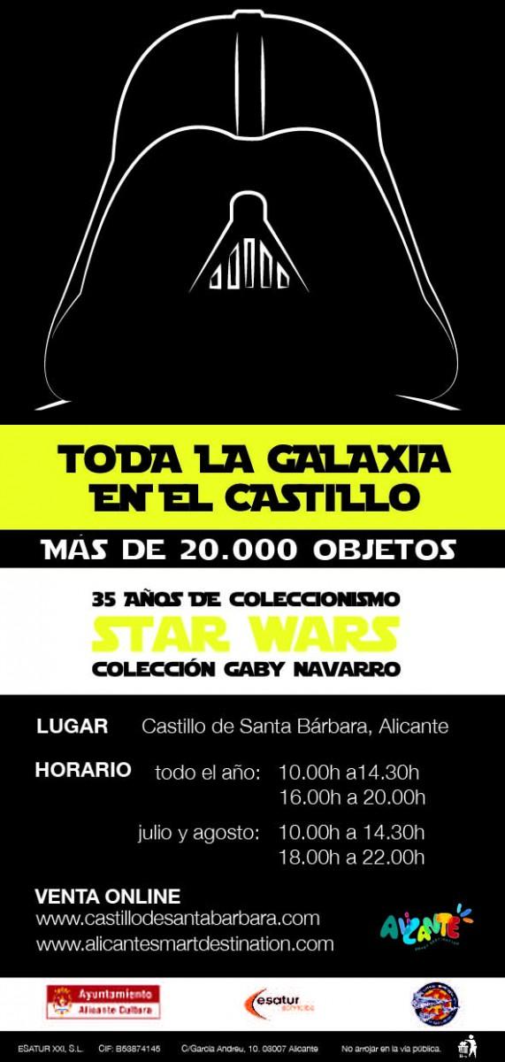 Exposición Toda la Galaxia en el Castillo. 35 años de coleccionismo Star Wars