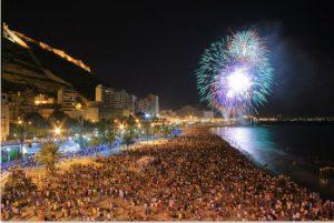 "Mascletás ""Bonfires of San Juan 2018"" @ Plaza de los Luceros, Alicante | Alacant | Comunidad Valenciana | España"