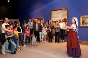 Visitas teatralizadas en el MUBAG. Museo de Bellas Artes Gravina @ Museo MUBAG