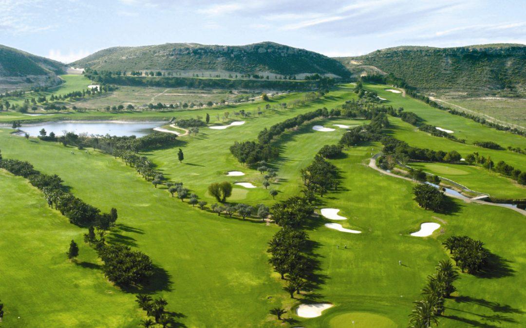 Golf courses in Alicante
