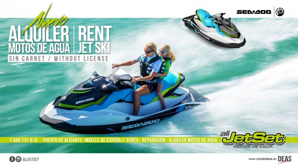 Alquiler de Jet Ski y Motos Acuáticas con ALIJETSET @ ALIJETSET | Alicante | Comunidad Valenciana | España