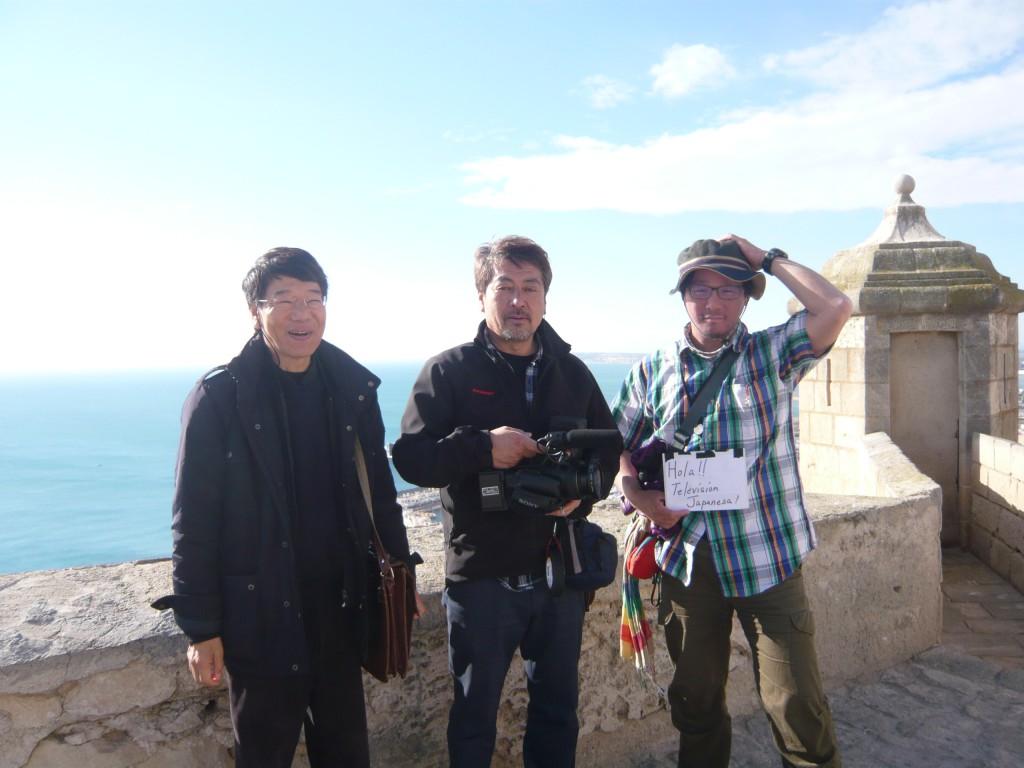 El Callejeros Viajeros japonés estuvo grabando en Alicante en febrero de 2013.