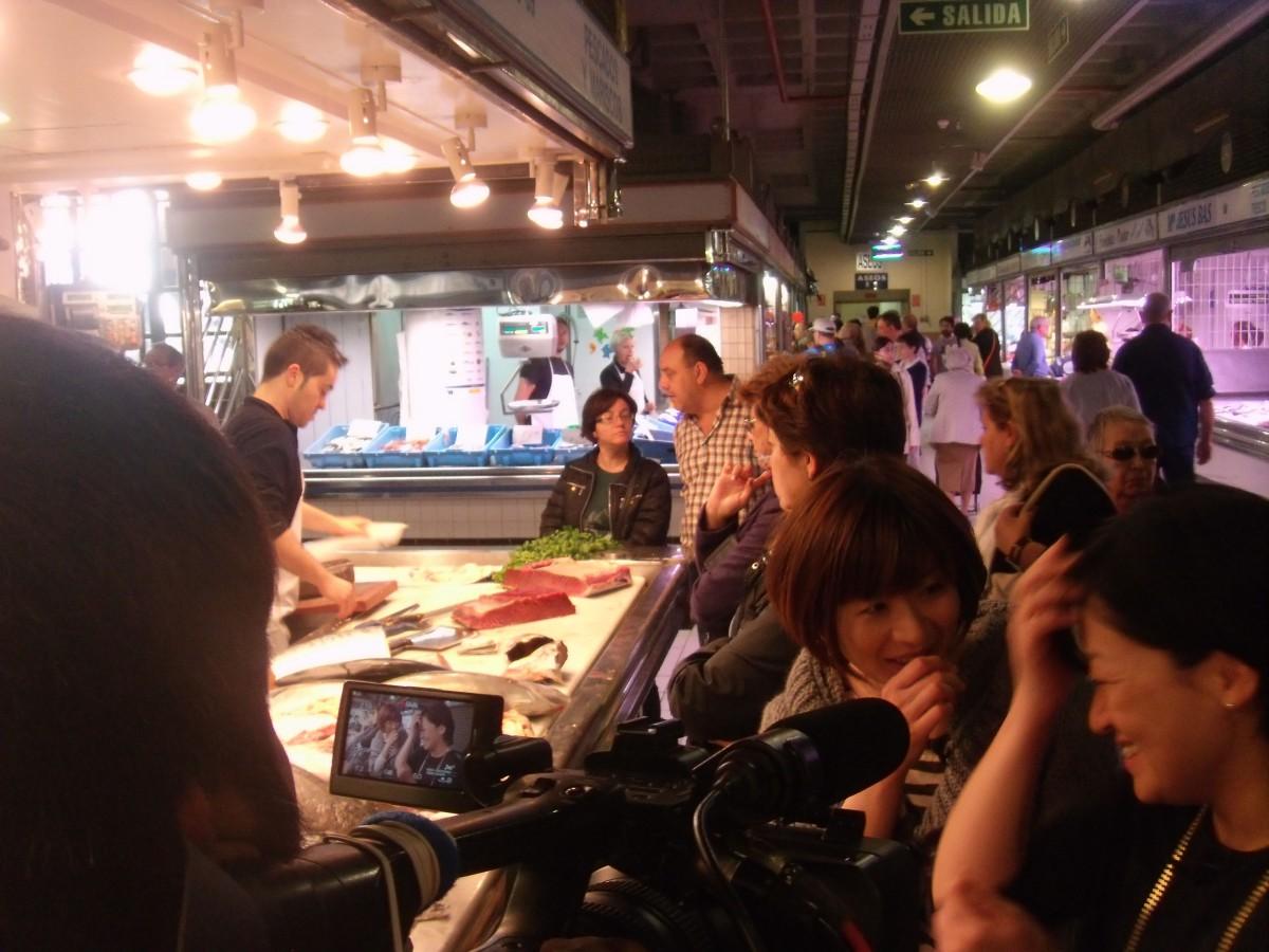 'Japoneses por el mundo' rueda la vida de una compatriota que vive en Alicante