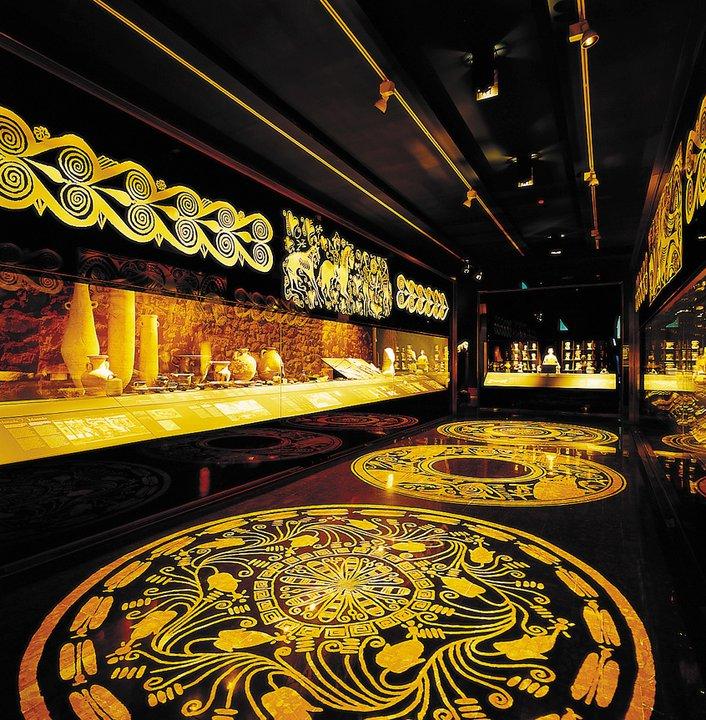 Exposición El Reino de la Sal. 7000 años de historia del Hallstatt. Marq 2013