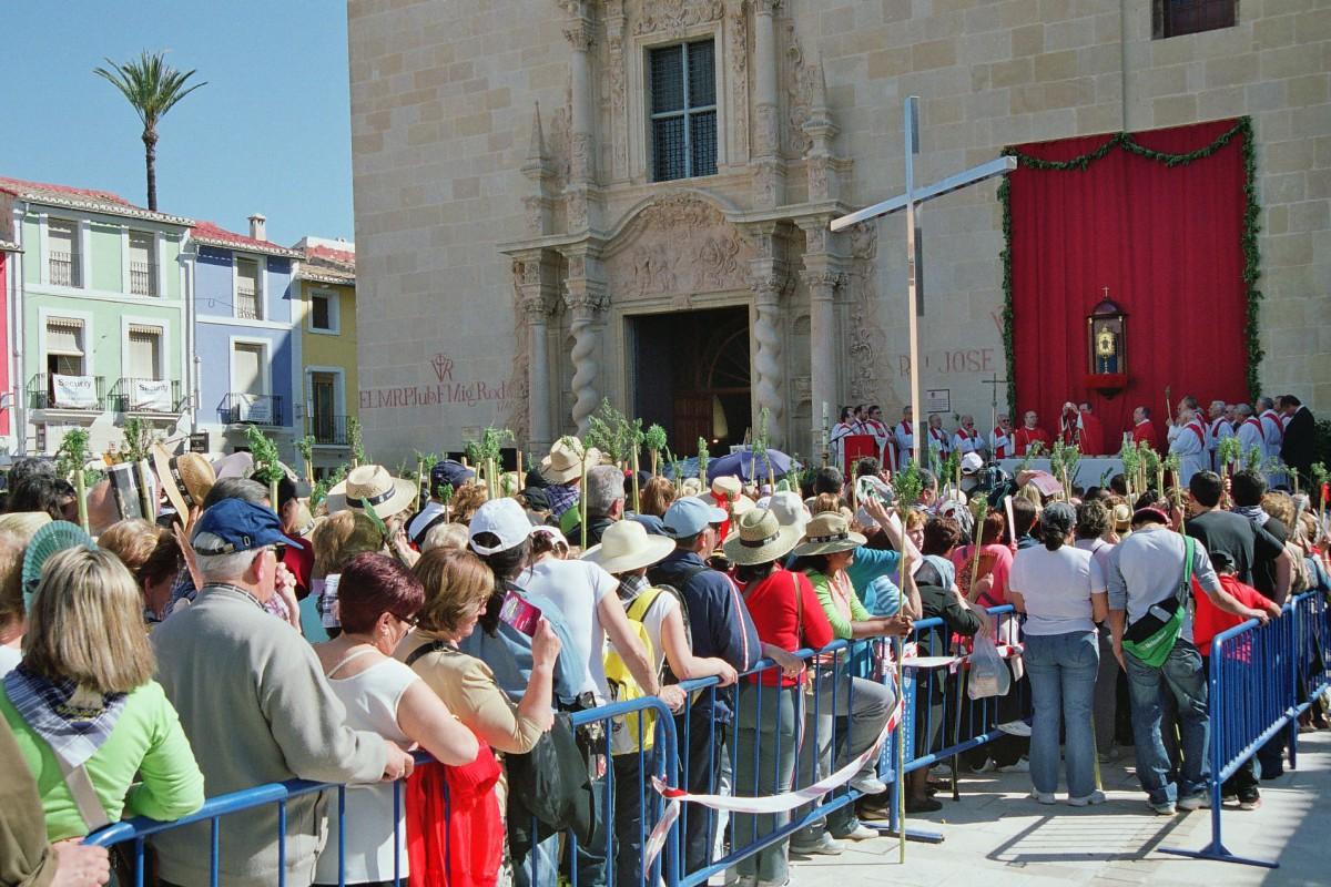 Alacant celebra el 525 aniversari del Miracle de la Llágrima de la Santa Faç del 16 al 23 de Març del 2014