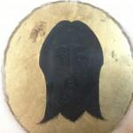 Una de las medallas donde se observa mejor el rostro.