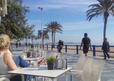 Playa Postiguet, Kiosko Miramar en Paseo de Gómiz