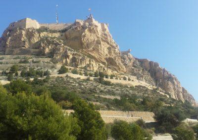 Castillo de Santa Barbara Alicante 2016 1