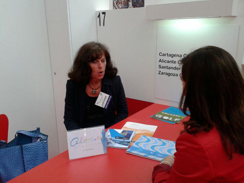 Alicante lleva su oferta de turismo de negocio a la Feria Imex de Frankfurt para atraer congresos a la ciudad