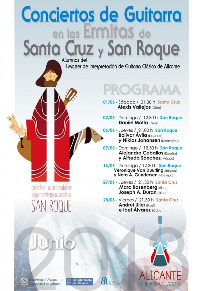 Cicle de concerts en les ermites de Sant Roc i Santa Creu