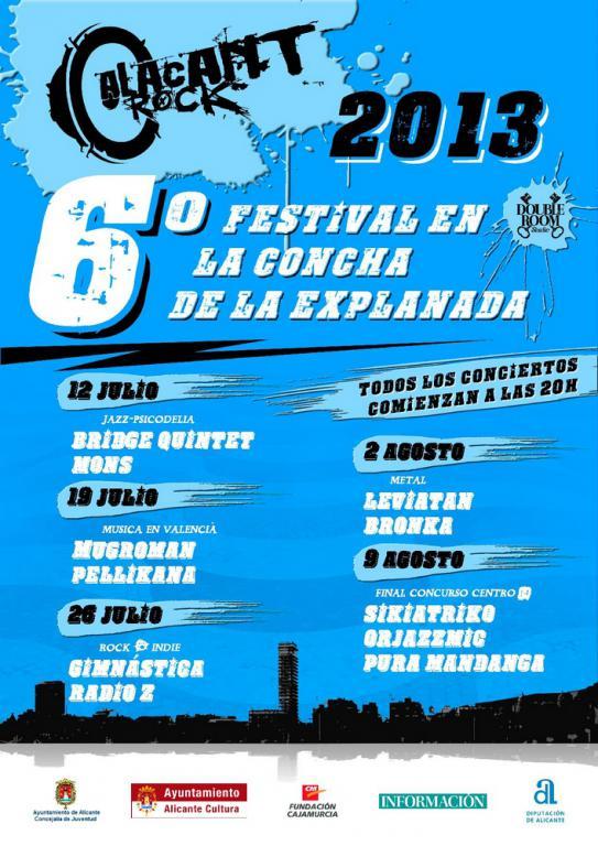 Festival de música Alacant Rock 2013