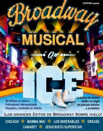 Broadway on ice: la belleza del musical con la magia del patinaje acrobático 2013