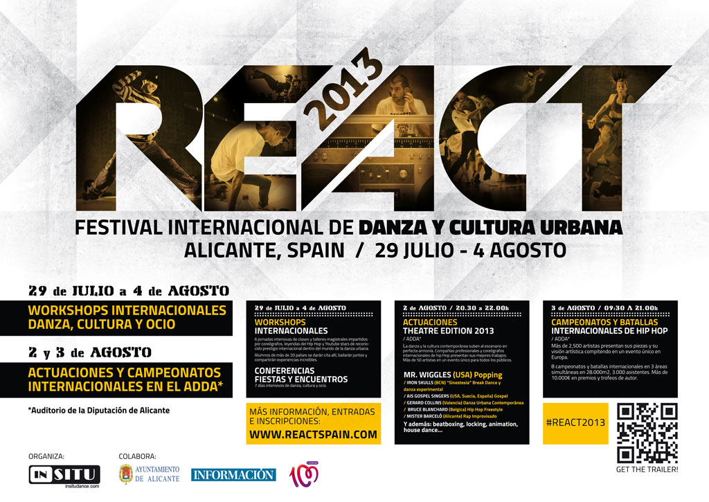 Alicante capital mundial del Hip Hop 'REACT 2013'