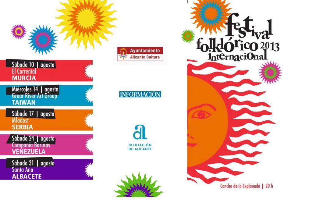 festival folklorico internacional 2013-2