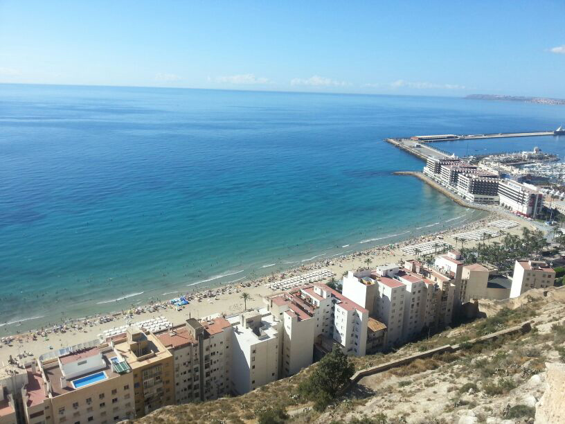 vistas playa alicante
