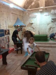 zona niños castillo