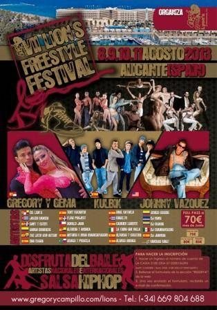 Alicante recibe al Lion´s Freestyle Festival