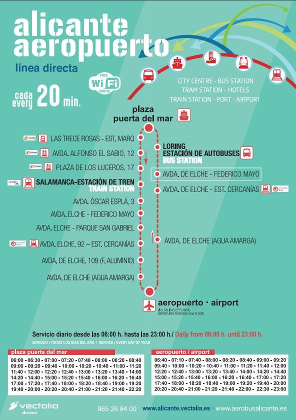 horario-y-recorrido-bus-c6-alicante-aeropuerto