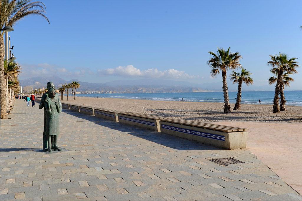 Avenida de Niza, Playa de San Juan