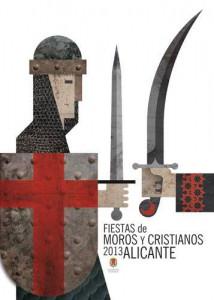 Medio Año Moros y Cristianos Villafranqueza
