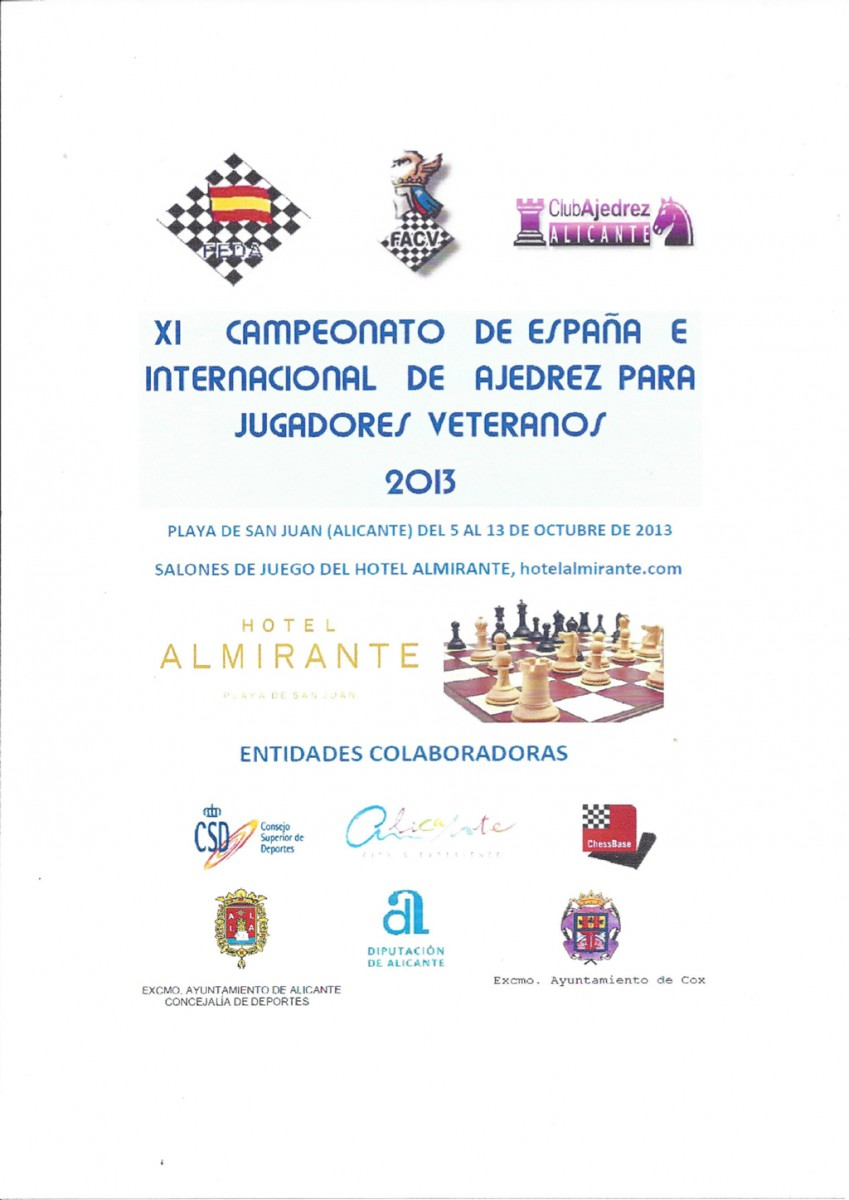 Campeonato Ajedrez Alicante