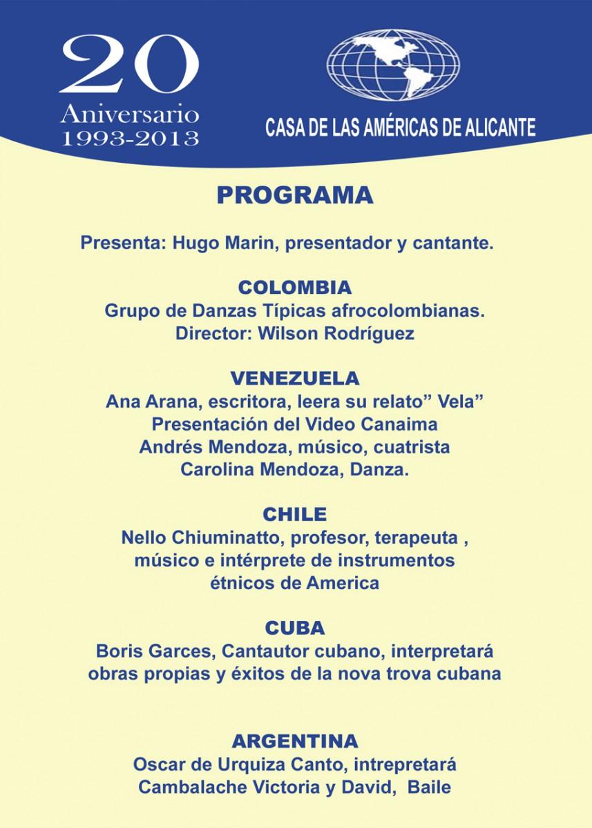Celebra el Día de la Hispanidad en Las Cigarreras. 11 y 12 de Octubre del 2013