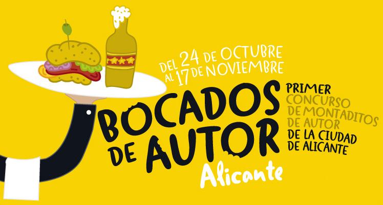 Bocados de Autor o ¡cómete Alicante por el 'bocata'!