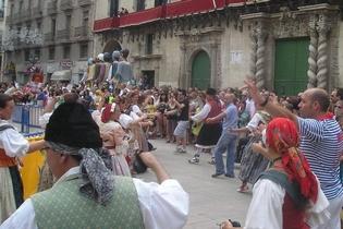 Alicante celebra el 9 de Octubre, Día de la Comunidad Valenciana