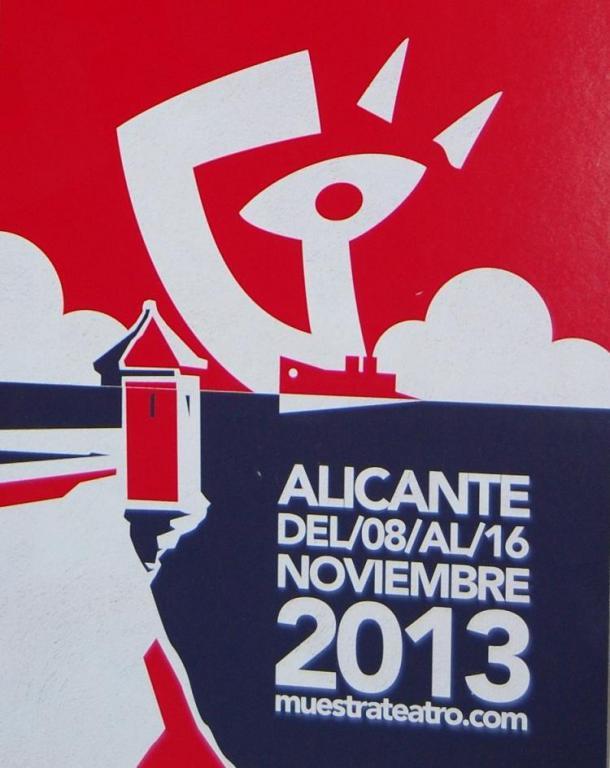 XXI Muestra de Teatro Español de autores contemporáneos.  Del 8 al 16 de Noviembre en Alicante