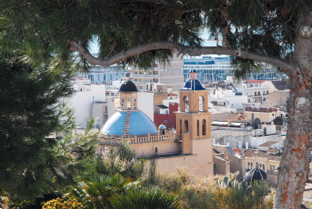 Concatedral desde el Parque La Ereta