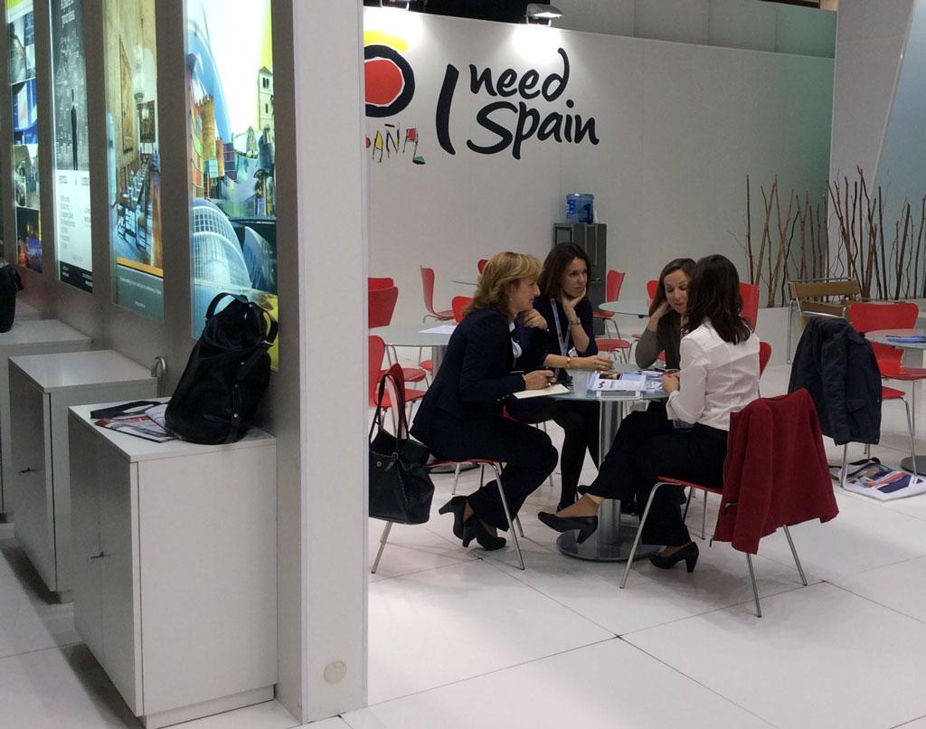 Alicante en la feria de turismo de negocios de Barcelona, EIBTM13
