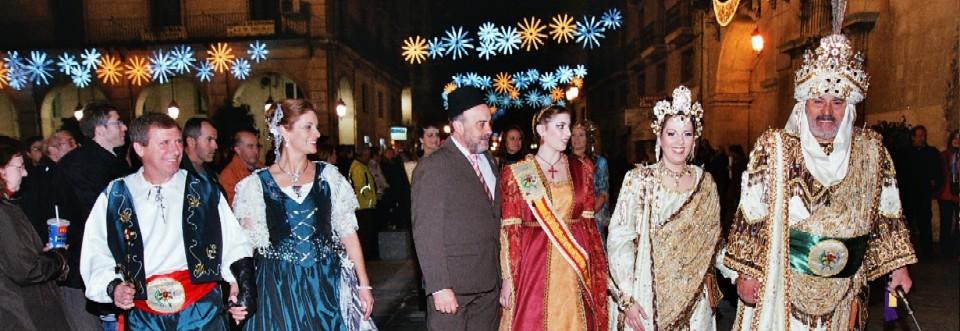 6 de diciembre Fiesta de San Nicolás y gran Desfile de Moros y Cristianos 2014