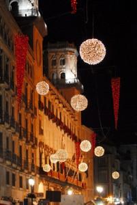 Navidad. Iluminación nocturna, Alicante