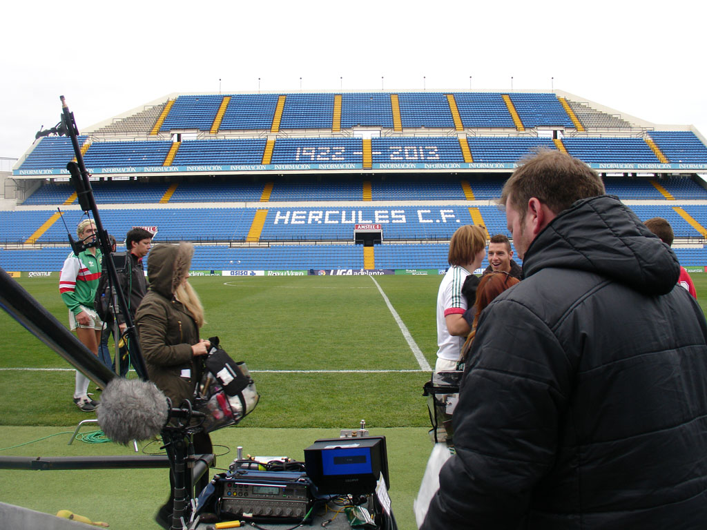 Alicante, escenario para la película 'Shooting for Sócrates'