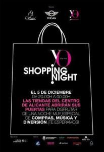Shopping Night Alicante @ Alicante