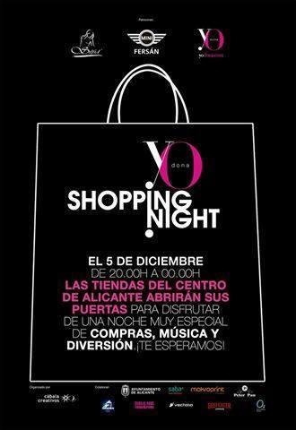 Shopping Night Alicante