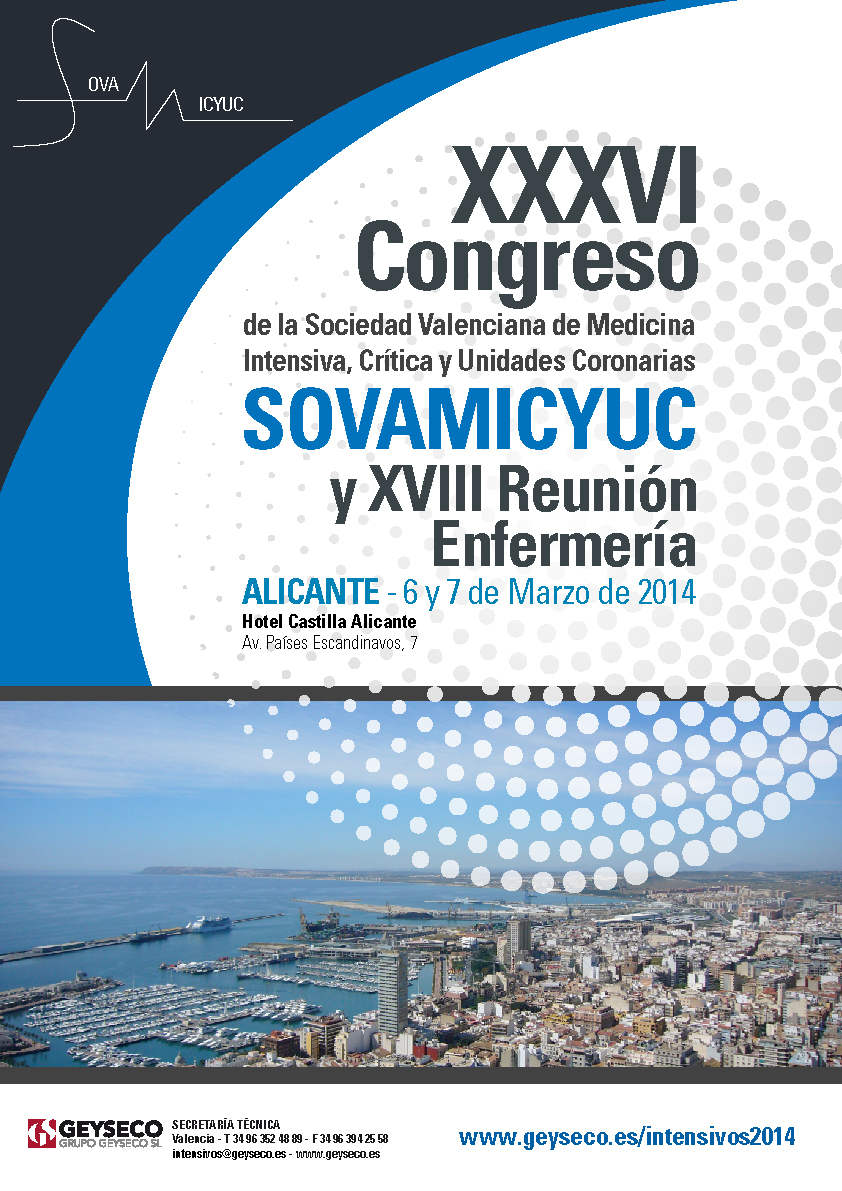 XXXVI Congreso de la Sociedad Valenciana de Medicina y XVIII Reunión de Enfermería