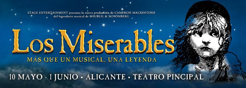 Los Miserables, el musical en Alicante. ¡Participa y gana!