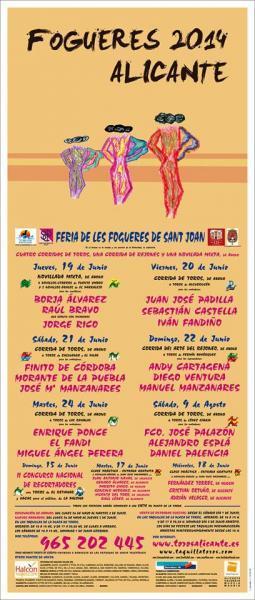 Feria Taurina. Hogueras 2014