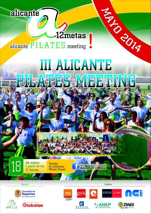Alicante 12 Metas. III Alicante Pilates Meeting