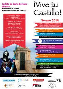 ¡Vive tu Castillo! @ Castillo de Santa Bárbara | Alicante | Alicante | España