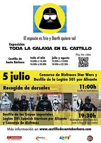 ESPECIAL STAR WARS LEGION 501   Concurso de disfraces y Desfile de la Legión 501st – Spanish Garrison