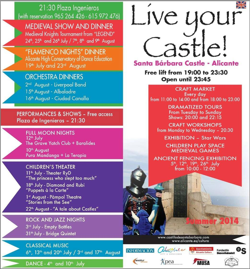 Be the king of the Castle! Summer 2014