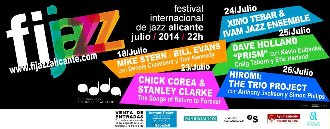 Between the 18th and the 26th of July 2014 you can enjoy the XVII FIJAZZ International Jazz Festival.